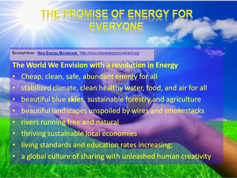 energy promise NEM